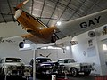 Museu Eduardo Andé Matarazzo - Bebedouro - Fairchild PT-19 Cornell e automóveis Lincoln Continental - panoramio.jpg