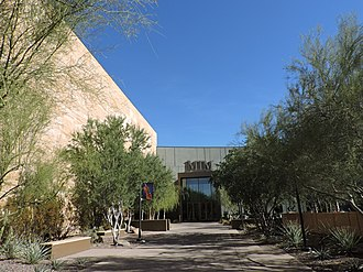 Musical Instrument Museum (Phoenix) - Main entrance to MIM