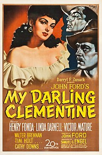 <i>My Darling Clementine</i> 1946 American western film directed by John Ford