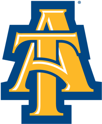 North Carolina A&T Aggies football - Image: NCA&T Interlock Lettermark