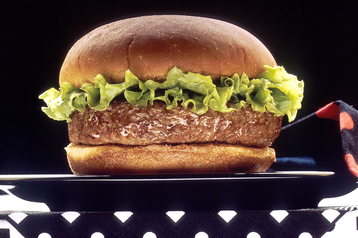 history of the hamburger
