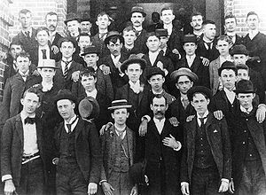 North Carolina State University - First freshman class at North Carolina College of Agriculture and Mechanic Arts in 1889.