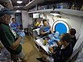 NEEMO 22 Aquanauts inside the Aquarius habitat.jpg