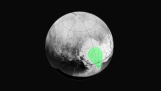 Tombaugh Regio - Image: NH Pluto Frozen Carbon Monoxide 20150714