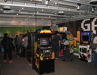 National Science and Media Museum - Games Lounge