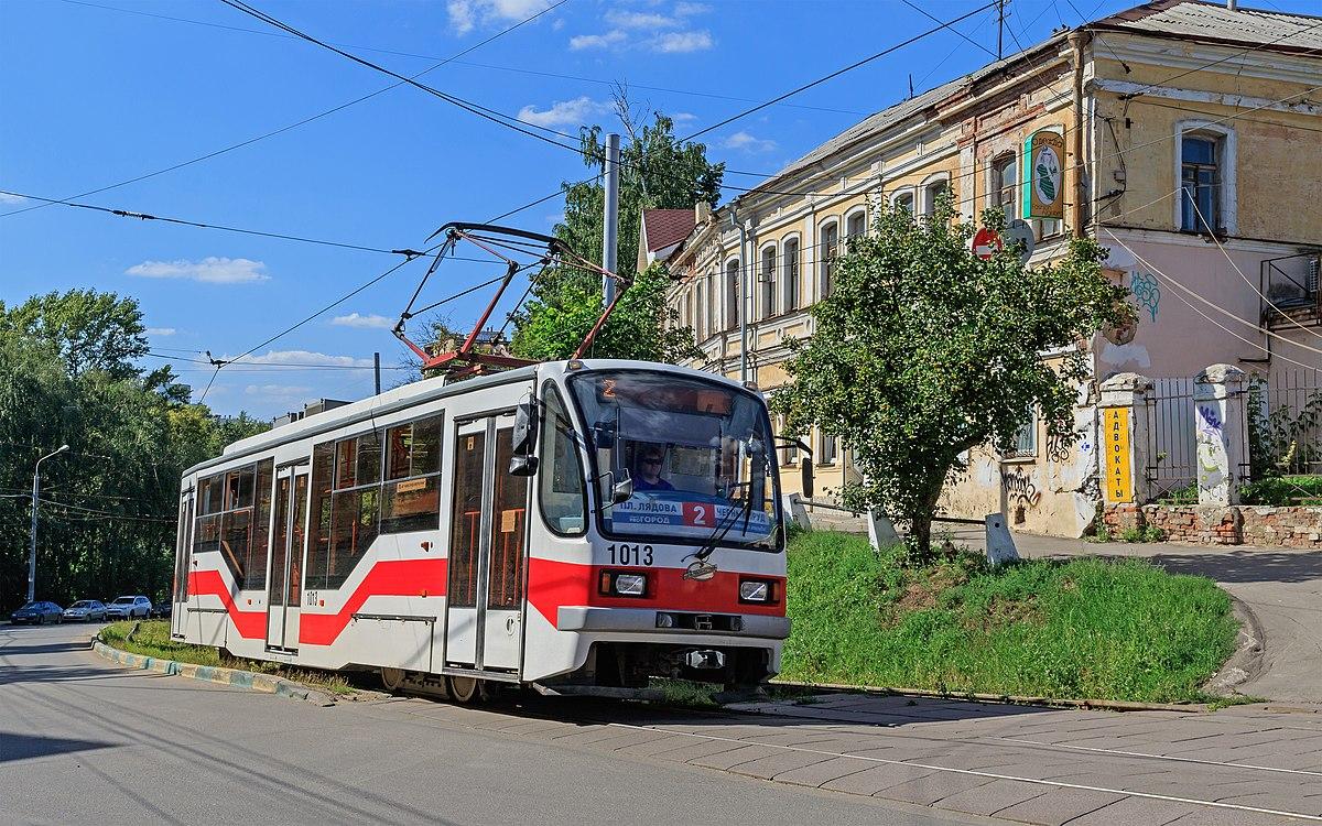 trams in nizhny novgorod wikipedia