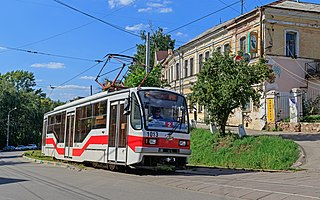 Trams in Nizhny Novgorod
