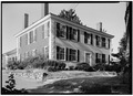 NORTHEAST VIEW OF EXTERIOR - Noah Brooks Tavern, North Great Road (State Route 2A), Lincoln, Middlesex County, MA HABS MASS,9-LIN,5-1.tif