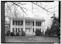 NORTH (FRONT) ELEVATION - Atkins-Jackson House, Dresden Highway (State Highway 54), Paris, Henry County, TN HABS TENN,40-PARIS,1-2.tif