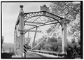 NORTH PORTAL ELEVATION. - Pine Creek Bridge, River Road spanning Pine Creek, Jersey Shore, Lycoming County, PA HAER PA-614-11.tif