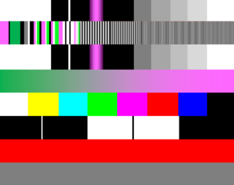 NTV7 - Test card used by ntv7 during the channel's downtime.