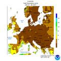 NWS-NOAA Europe Total precipitation JAN 22 - 28, 2017.png