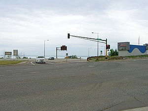 Interstate 35's northern terminus is at this intersection with London Road in Duluth, Minnesota