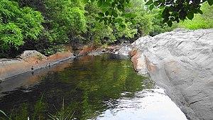 Nagalapuram - Image: Nagalapuram Hill Streams