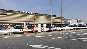 Nagoya Airfield - Main terminal building