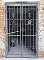 Nagygomba Church, door, 2020 Marcali.jpg