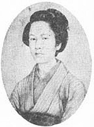 Onna-bugeisha - Nakano Takeko died at the Battle of Aizu.