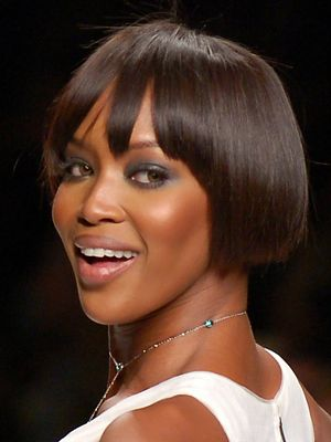 Naomi Campbell at FashionWeekLive in San Franc...