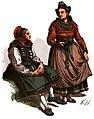 Nass. Trachtenbuch -T02- Bäuerinnen aus der Gegend von Breidenbach (Biedenkopf) 19. Jh.jpg