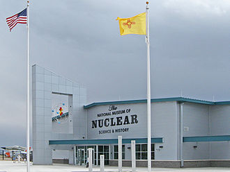 National Museum of Nuclear Science & History - Image: National Museum of Nuclear Science and History entrance