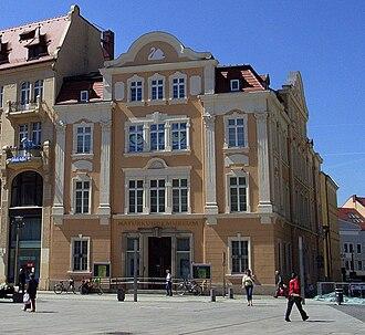 Museum of Natural History, Görlitz - Image: Naturkundemuseum Görlitz