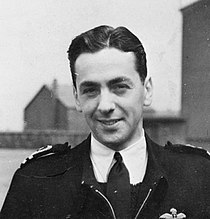 Naval Pilot Who Landed Jet Plane on Carrier. On 3 December 1945, Lieut Cdr Eric Melrose Brown, MBE, DSC, RNVR, Chief Naval Test Pilot, Landed a De Havilland Sea Vampire Jet Aircraft on the Flight Deck of the British Aircraft Carrier HMS Ocean..jpg