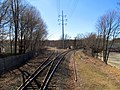 Needham Junction wye from station, March 2016.JPG