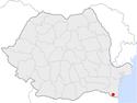 Negru Voda in Romania.png