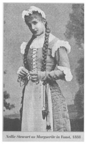 Nellie Stewart - Stewart as Marguerite in Faust