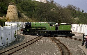 Hudswell Clarke - 4-6-2 Triton at Scalby on the Scarborough North Bay Railway