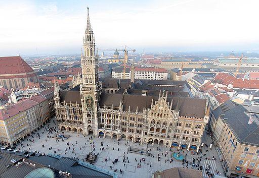 Neues Rathaus und Marienplatz München