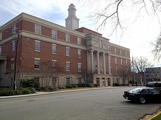Baldwin County, Georgia - Image: New Baldwin County Courthouse panoramio