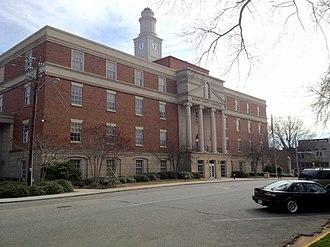Baldwin County, Georgia - Image: New Baldwin County Courthouse panoramio