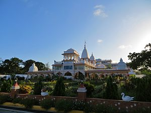 Hinduism in Kenya - Hare Krishna Temple in Mombasa.