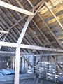 New England barn, Jefferson, Maine framing.JPG