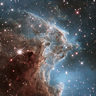 Emission nebula - Image: New Hubble image of NGC 2174