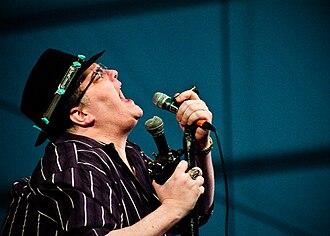 John Popper - Popper's trademark hat and custom modified harmonica microphone