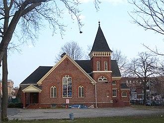 New Utrecht Reformed Church - Image: New Utrecht parish house jeh