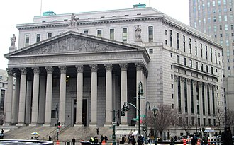 New York County Courthouse - New York State Supreme Court Building in 2013