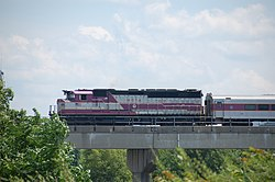 Newburyport Rockport Line train crossing the Mystic River, July 2007.jpg