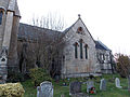 Newgate Street, Hertfordshire, St Mary's Church 03 - From the Southwest.jpg