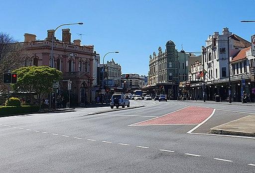 Newtown NSW, Cnr King Street & Enmore Road, 2019 (cropped)
