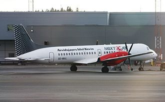 British Aerospace ATP - An ATP in service with NextJet Sweden.  NextJet is the only remaining operator of the passenger variant of the ATP