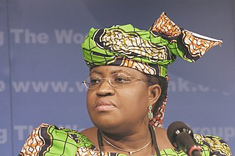 Ngozi Okonjo-Iweala - Ngozi Okonjo-Iweala, at the 2004 Spring Meetings of the International Monetary Fund and the World Bank Group