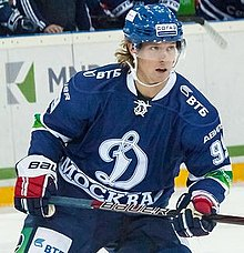 Bäckström played for Dynamo Moscow during the 2012–13 NHL lockout c79433b550e5