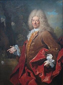 Victor Marie d'Estrées par Nicolas de Largillierre