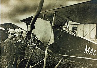 Nieuport 11 - Nieuport 11 of the Escadrille Américaine (later Escadrille Lafayette)