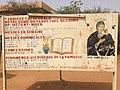 Niger, Niamey, signpost at the Catholic Mission.jpg