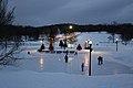 Night ice skating on Mount Royal.JPG