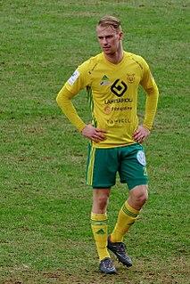 Niklas Jokelainen Finnish footballer
